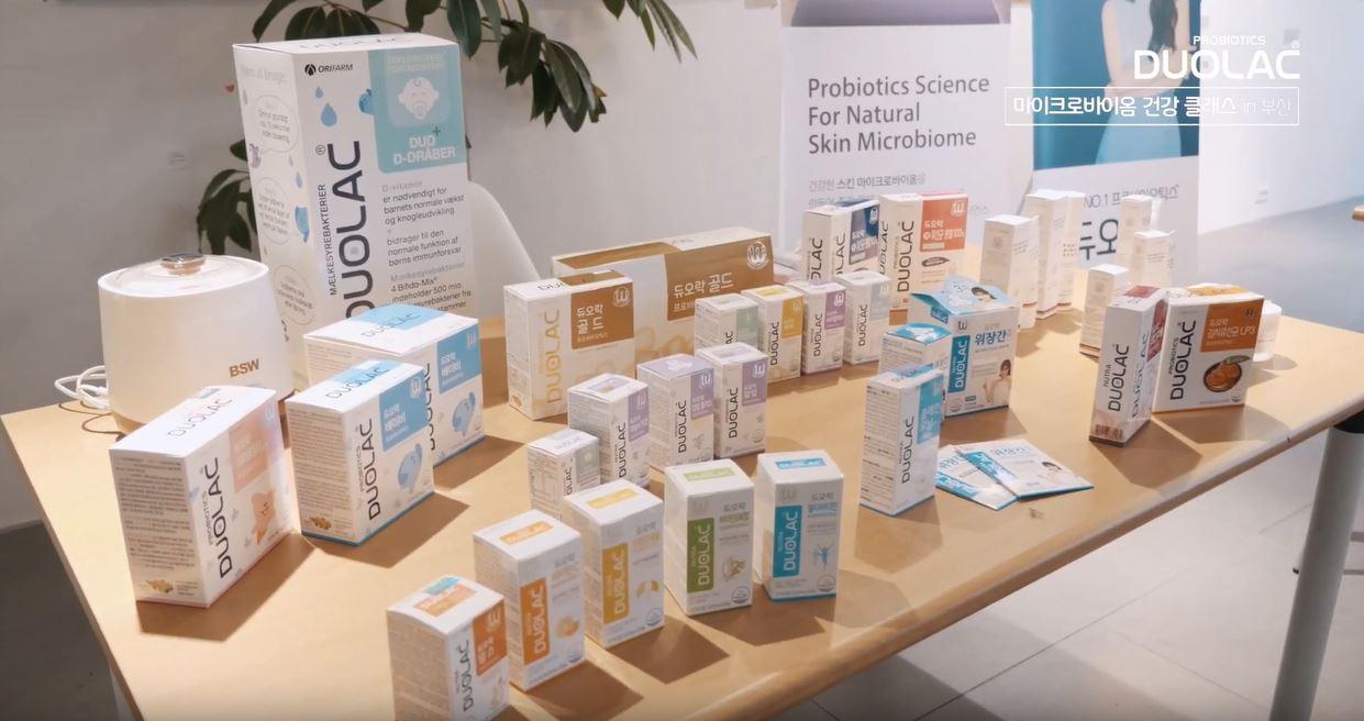 Duolac Korea Microbiome Health Class