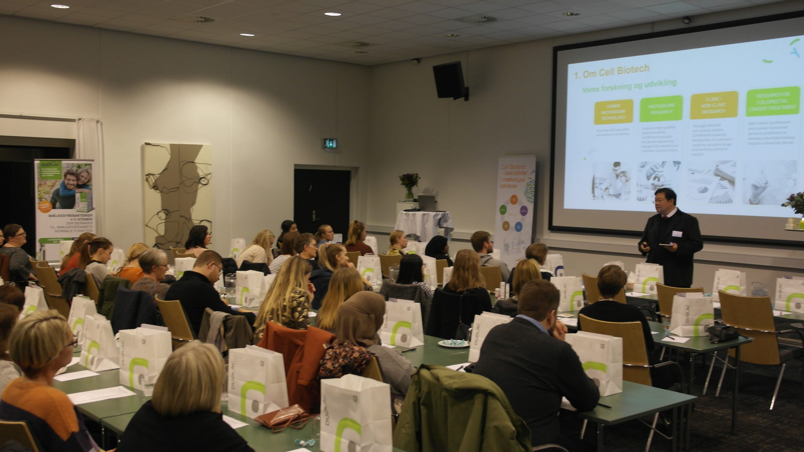 Duolac Denmark holds danish pharmacist seminar in different regions